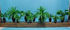 Multi Scale Use-10 Piece Assortment of Bottle Palm Trees-2 Styles in 4 Sizes