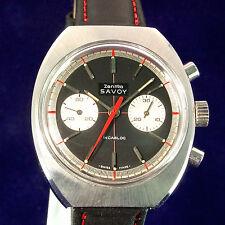 Zentra Savoy CronographHandaufzug  von 1974 unbenutzt mit Garantie