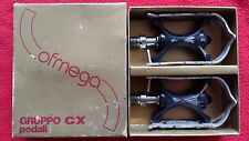 "Ofmega CX Pedals 9/16""x20t from the 1980's// idem campagnolo record/mks"
