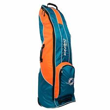 BRAND NEW Team Golf Miami Dolphins Golf Bag Travel Cover Teal/Orange 31581