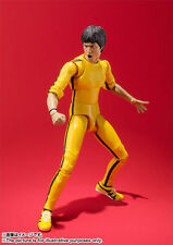 (P) BANDAI S.H.FIGUARTS BRUCE LEE ( YELLOW TRACK SUIT ) ACTION FIGURE SHF