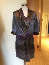 Stills Tunic Top Size 10 BNWT Brown Lilac RRP £157 Now £39