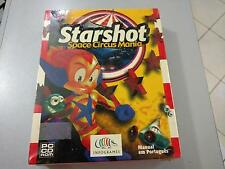 STARSHOT Space Circus Mania  Game PC (1999)Box - New Sealed (PORTUGUES VERSION)