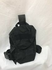 Eagle Industries Black LA Swat SAS Gas Mask Drop Leg Pouch Duty LE SWAT SEALs