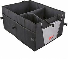 Foldable Car Boot Trunk Organiser Tidy Shopping Storage Box, Black Basket Bag