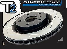 DBA T2 FRONT + REAR Slotted DISC BRAKE Rotors FIT Ford Falcon BA BF AU XR6 XR8
