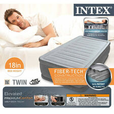 "Intex 64411E - Comfort Plush Elevated Dura-Beam Airbed 39""x75""x18"" - Twin Size"