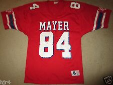 Mayer High School Wildcats #84 High School Game worn Football Jersey L LG