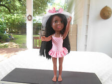 """2011 Smart Zone 12"""" African American Doll In Original Clothing"""