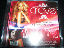 Crave Vol 4 Mixed By DJ Havana Brown 3 CD - Like New