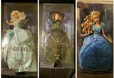 Cinderella Fairy Godmother Lady Tremaine Disney LIVE ACTION FILM COLLECTION Set
