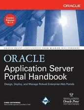 Oracle Application Server Portal Handbook (Oracle Press)-ExLibrary
