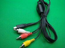 AV Monitoring cable Canon T2i 550D Magic Lantern USB mini to RCA TV AUX Video