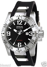 Invicta 6252 Excursion Swiss Made Men Stainless Steel Black Dial 50mm Watch