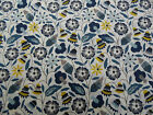 Liberty of London Tana Lawn Fabric 'Bobo A' 2.2 METRES (220cm) x 136cm Blue