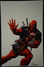 Deadpool Print Signed by Ed McGuinness