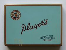 "PLAYER'S NAVY CUT CIGARETTES ""MILD"" TIN CASE BY IMPERIAL TOBACCO MONTREAL CANADA"