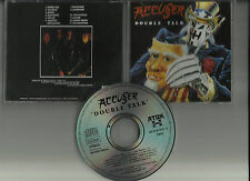 ACCUSER - Double talk CD Reissue THRASH METAL PYRACANDA DETRITUS SLAMMER
