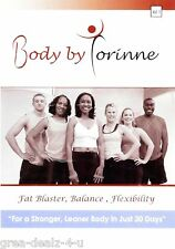 Body By Corinne - Vol. 1 - Fat Blaster, Balance, Flexibility - Fitness Excercise