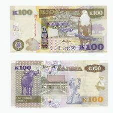 ZAMBIA - 100 Kwacha Banknote - P54 - UNC.