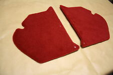 Holden HK-HT-HG kick panels L & R. Red plush carpet. NEW.