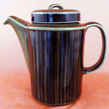 "KOSMOS Arabia Finland Coffee Pot NEW NEVER USED Oven Proof 7.5"" tall Finland"