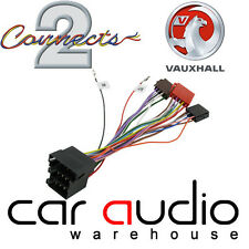 CT20VX02 Vauxhall Vectra 2000 - 2004 Car Stereo Radio ISO Wiring Harness Adapter