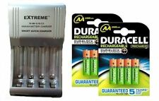 FAST SMART CHARGER+ 8 x AA DURACELL 2500 mAh DURALOCK RECHARGEABLE  BATTERIES