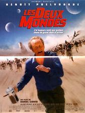 Affiche 40x60cm LES DEUX MONDES (2007) Benoît Poelvoorde TBE