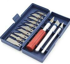 17 Piece Exacto Knife Kit / Set For Hobby , Scrapbooking , Crafts , and Shop XG