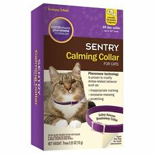 Sentry Calming Collar for Cats, 3-Pack, New, Free Shipping