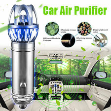 2016 Mini Auto Car Fresh Air Ionic Purifier Oxygen Bar Ozone Ionizer Cleaner NEW