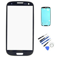 Touch Screen Lens Glass Replacement For Samsung Galaxy S3 i9300 I747 Blue OEM