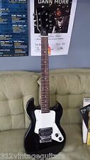 First Act 222 Adam Lavigne Electric Guitar - Black Right Handed Six String