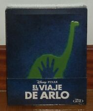 EL VIAJE DE ARLO-THE GOOD DINOSAU-DISNEY-STEELBOOK-BLU-RAY-PRECINTADO-SEALED-NEW