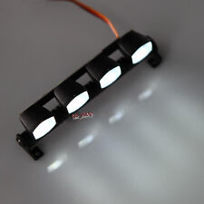 RC 1/10 1/8 Car Multi Function Ultra LED Light Bar AX-505W white Police Lenses