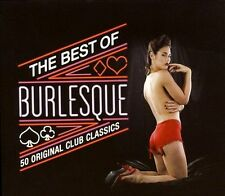 NEW The Best Of Burlesque: 50 Original Club Classics CD (CD) Free P&H