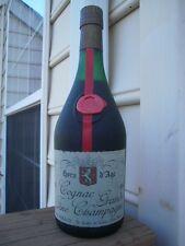 """LHERAUD """"Hors d'Age"""" Sehr Alt SELTEN Schöne Cognac Flasche!!"""