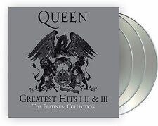 """Queen """"platinum collection"""" 3CD Box Greatest Hits I, II, III NEU 2011 remastered"""