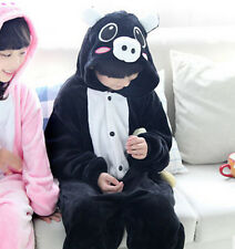 New sale kids Pajamas Kigurumi Unisex Cosplay Animal Costume Onesie sleepwear