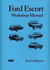 FORD Escort Mk1 1968 to 1974 Shop manual Very large Catalogue Book Paper