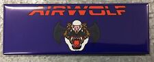 Air Wolf Arcade Game Marquee Fridge Magnet