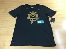 Nike Sportswear NSW Team Pacquiao Logo Dri-Fit Tee Shirt M Black Gold 822232 010