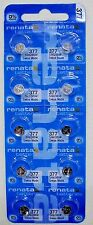 RENATA SWISS MADE 377 SR626SW x 10 pcs WATCH BATTERIES exp: 06/2019 or later