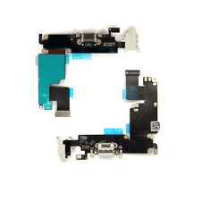 White USB Charging Port Dock & Headphone Jack Mic Flex Cable For iPhone 6 Plus