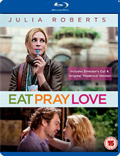 EAT PRAY LOVE - BLU-RAY - REGION B UK