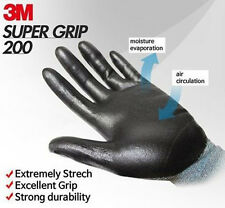 3M Super Grip 200 Nitrile Palm Coated Assembly Mechanic Work Safety Gloves