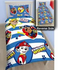 PAW PATROL 'PAWSOME' SINGLE DUVET COVER 2 in 1 REVERSIBLE NEW