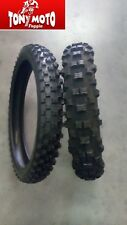 Coppia Pneumatici Enduro Cross 90 -90 / 21  140 - 80 / 18  Deestone