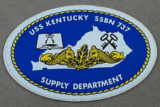US Navy Ballistic Missile Submarine USS Kentucky SSBN-737 Decal / Sticker